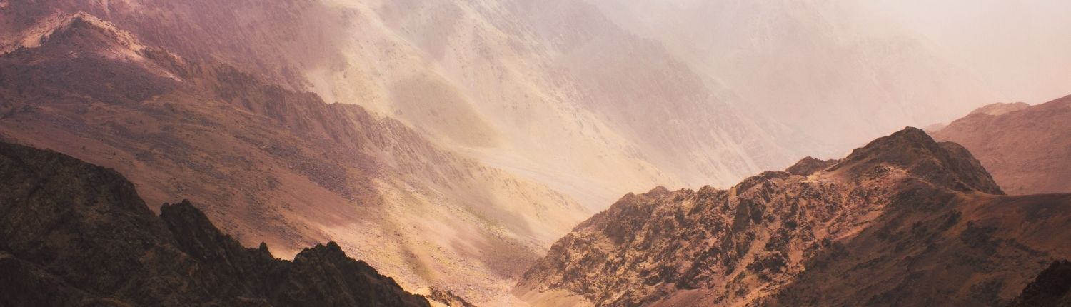 Toubkal mountains of Morocco, just amazing!
