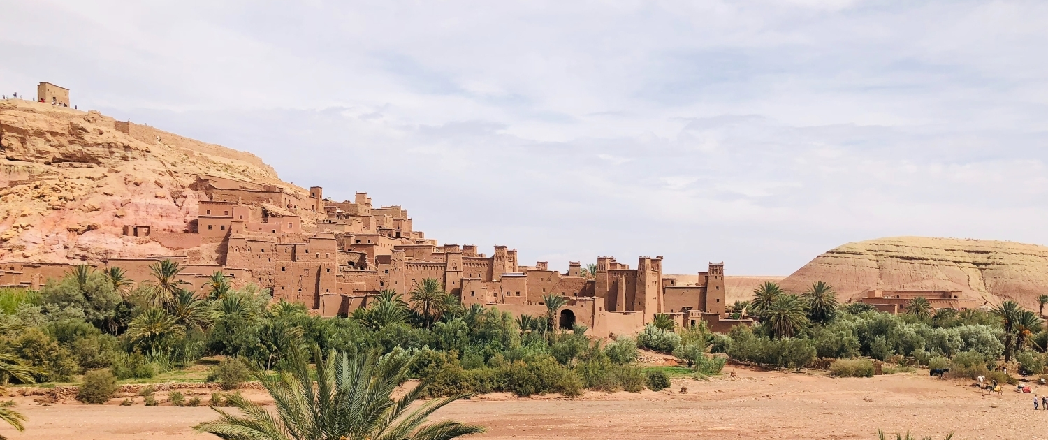 Beautiful Ourzazate at Morocco