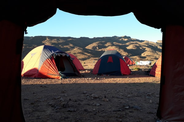 Expedition tour at Atlas mountains in Morocco